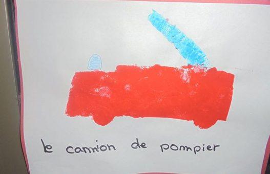 Quelques peintures des enfants de Cherry Tree sur le thème d…